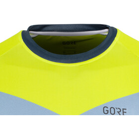 GORE WEAR C5 Trail Shortsleeve Jersey Herren deep water blue/citrus green
